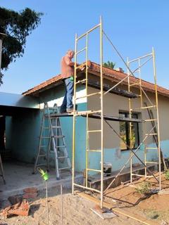 Roof repairs at Beula
