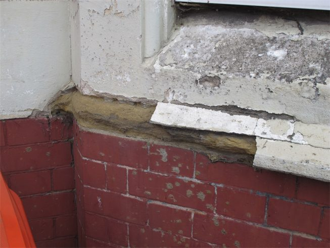 Example of stone deterioraion